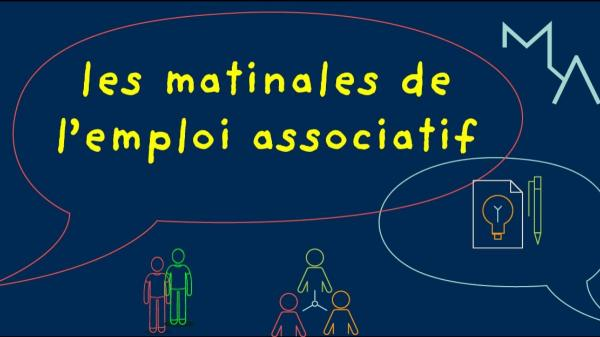 [EVENEMENT] Les matinales de l'emploi associatif